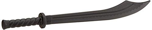 Classica spada/dao da kung-fu. Resistente modello in plastica rigida. Lama con affilatura appena pronunciata. Per allenarsi in sicurezza. Lunghezza: ca. 87 cm.