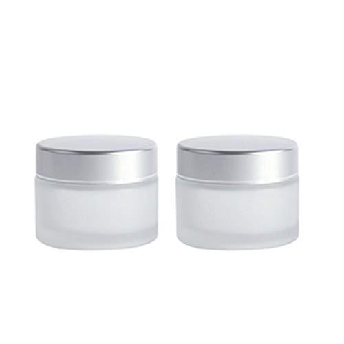 Zhou Biberon, crème de Compression for Les Yeux Produits de Soin de la Peau Mise en Bouteille - sous-Bouteille cosmétique for échantillons approuvée for Les Bagages à Main yan (Size : 50ml)
