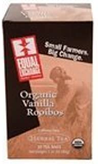 Equal Exchange Herbal, Vanilla Rooibos Tea (6/20 BAG) ( Value Bulk Multi-pack)