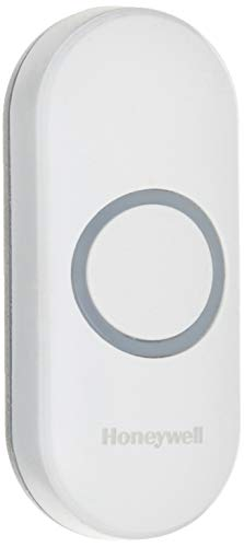 Honeywell Home RPWL400W2000/A Honeywell Series 3, 5, 9 Wireless Doorbell Push Button with Halo Light