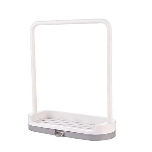 TOSSPER Spültuch Einhängegestell Badezimmer Seifen Lagerung Ständer Halter Küchenreinigungswerkzeug Organizer Für Sponge Handtuch Rag