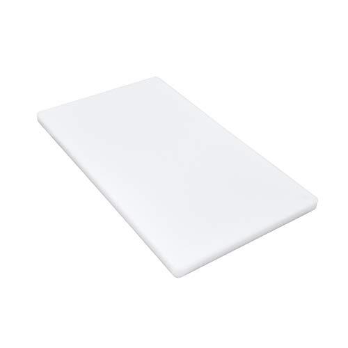 Gastro Spirit - Großes Schneide-Brett/Küchen-Brett - Weiß, ca. 50 x 30 x 2 cm, HACCP,...