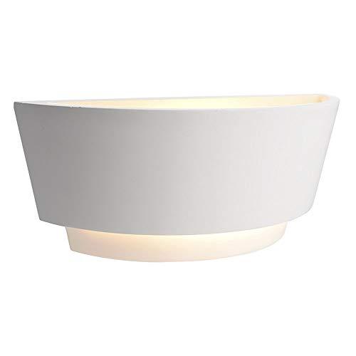 Deko-Light DL TWYNNDA I Applique Murale en plâtre E14 Blanc