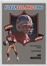 Best fleer all pro 1990 joe montana Reviews