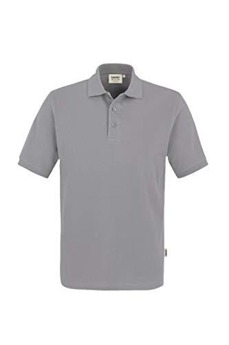 "HAKRO Polo-Shirt ""Classic"" - 810 - titan - Größe: L"