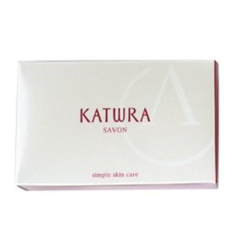 同志近所の器用カツウラ KATWRA サボンA グリーンフローラルの香り 100g