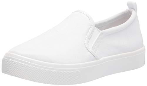 Skechers Women's Street Poppy-Every Daisy Sneaker, White, 5
