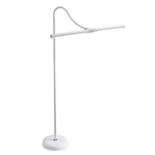 Daylight Company LLC UN1530 Daylight Duo LED Art & Craft Floor Lamp-White