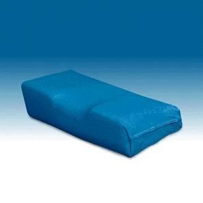 Witschi Kopfkissen Wechselbezug, azurblau 2