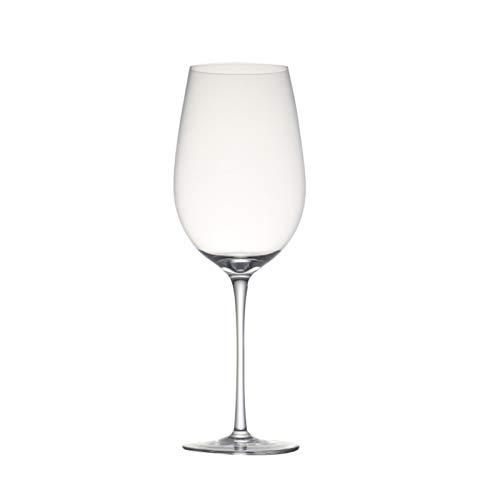 Copas Vino Conjunto De 2 25.5 onza soplado hecho a mano cristalino de la boda copa de...