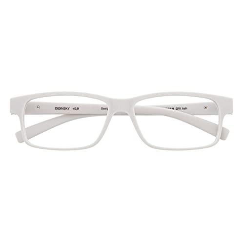 DIDINSKY Gafas de Presbicia con Filtro Anti Luz Azul para Ordenador. Gafas Graduadas de Lectura para Hombre y Mujer con Cristales Anti-reflejantes. Ash +2.0 – THYSSEN