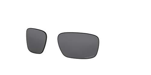 Oakley AOO9409LS Sliver Stealth Sport Replacement Sunglass Lenses, Prizm Black Iridium Polarized, 57 mm