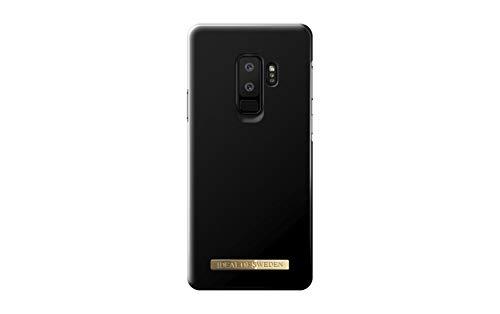 iDeal of Sweden Schutzhülle für Galaxy S9 Plus, Mikrofaser-Innenfutter, Qi-Aufladung, Matte Black