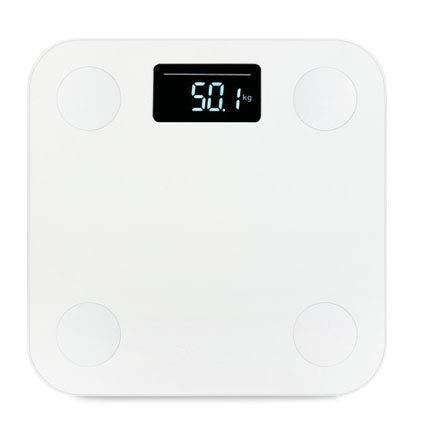 LIAOLEI10 Waage Heiße Badezimmer Smart Waagen Yunmai Premium Mini Digital Körperfettwaage Boden Elektronische Menschliches Gewicht Mi Waagen Bluetooth LCD BMI