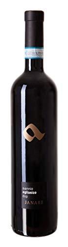 Sannio DOC Janare Aglianico- La Guardiense - | Confezione da 6 Bottiglie da 75 Cl | Idea Regalo | Confini del Gusto