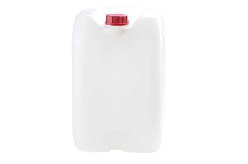Industrie-Kanister 30 Liter mit Verschluss, natur