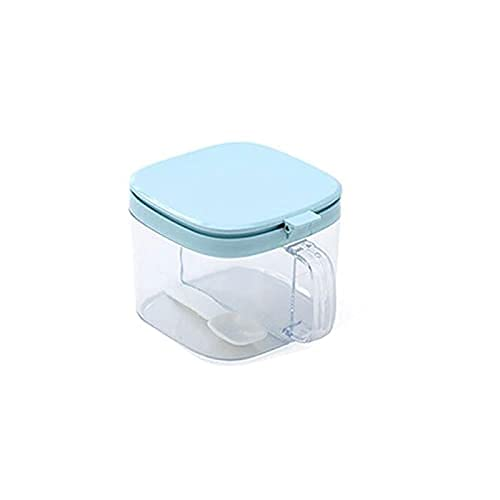 Spice Box Creating Dispenser,Compartment Dienblad met deksel,voor suiker,peper,keukencuisiment.Size:10.5 * 11cm*11cm…
