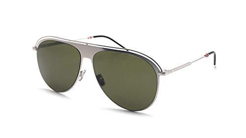 Dior Christian Homme Dior0217S Gafas de Sol Verde Palladium con Lentes Verdes 59mm KTUQT 0217 0217/S Dior0217/S