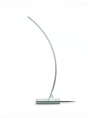 Philips myLiving LED Tischleuchte / Schreibtischleuchte Hexagon, aluminium