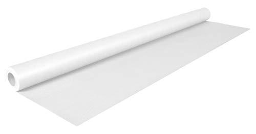 Clairefontaine 195751C Rolle (färbiges Kraftpapier, 10 x 0,7 m, 65 g, PEFC, ideal für Ihre Bastelprojekte) 1 Stück weiß