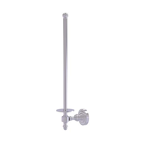 Allied Brass RD-24U/12-SCH Retro Dot Collection Wall Mounted Paper Towel Holder, Satin Chrome