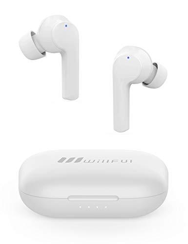Willful 完全ワイヤレスイヤホン Bluetooth 5.0 最大40時間音楽再生 瞬時接続 自動ペアリング Hi-Fi高音質 IPX7防水 両耳 左右分離型 ハンズフリー通話 パッシブノイズキャンセリング AAC Siri対応マイク内蔵 WEB会議 テレワーク 4.3g 超軽量 PSE認証済 iPhone/iPad/Android対応