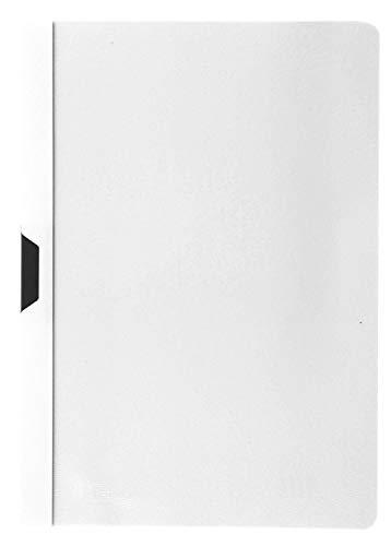 Idena 300576 - Klemmmappe DIN A4, 10 Stück, weiß