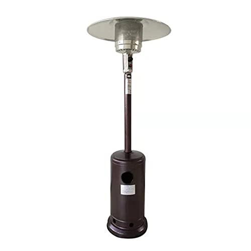 Patio Gas Heater,Table Top Patio Heater, Mini Modern Steel Umbrella Propane Patio Heater,No Level Adjustable Free Standing Easy Control Patio Heater For Outdoor Restaurant Garden