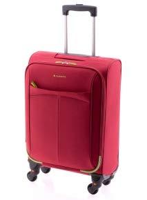 Maleta cabina ruedas desmontables, Click de Gladiator, 4 ruedas extraíbles, 55 cm, 40 L, Rojo