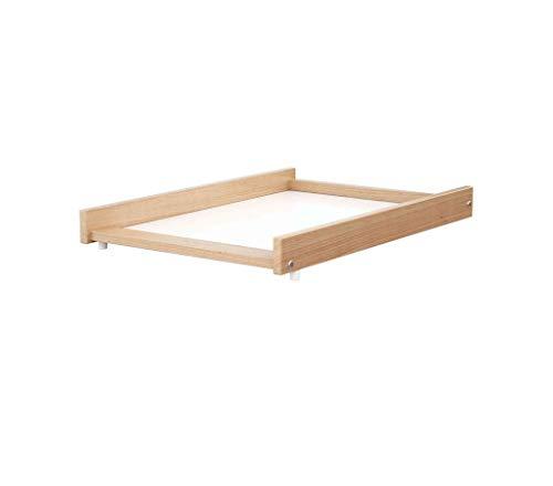 Table à langer Baby Fox transportable laqué blanc