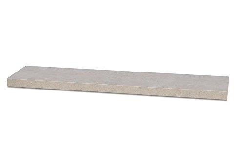 living-by-design Wandboard Bobby B x H x T: 100x3,8x22,5cm Betonoptik Grau 100cm Wandregal Board Bücherregal