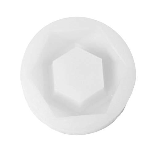 Pveath Moldes de silicona para macetas de plantas suculentas, 3 formas a elegir, para manualidades, para cerámica, yeso, hormigón, hielo, cristal, fácil de sacar y limpiar