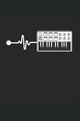 Kalender 2022: Modulares Synthesizer-Keyboard Synth Heartbeat Terminkalender DIN A5 Organizer mit 120 Seiten | Notizbuch Terminplaner Wochenkalender Jahresplaner Jahreskalender