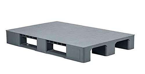 Palet de plástico 120x80x14,5cm, Pallets almacenamiento, almacén, almacenamiento a prueba de humedad