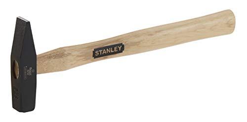 Stanley 1-51-172 Brick hammer 0.44lbs with Wooden Handle, Black/Tan Brown
