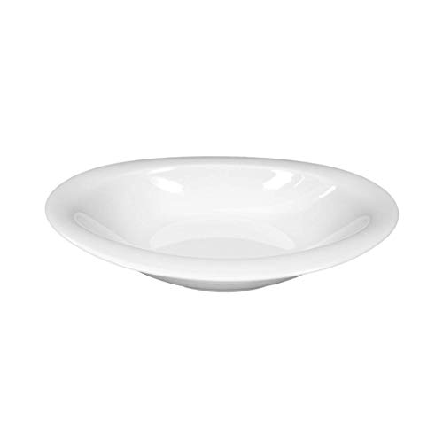 Seltmann Weiden Top Life Weiss Uni Schale oval nieder 21 cm / Suppenteller