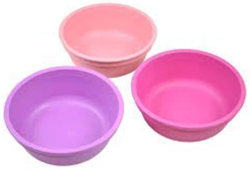 Re Play Bowls Pink Light Pink Purple 3 Count