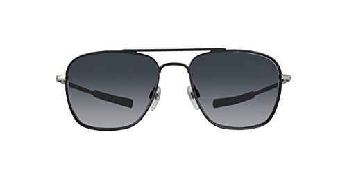 Diesel Dl0219-05A-Schwarz Gafas de sol, Negro (Schwarz), 53.0 para Hombre