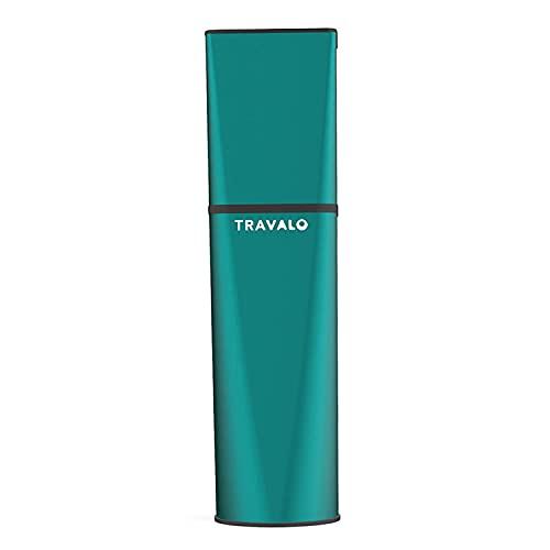 Travalo Atomiseur de Parfum Obscura Vert pour Vaporisateur Rechargeable Unisexe de 0,17 oz Vide