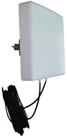 LowcostMobile PAN5G-MIMO-2021 700/800/900/1800/2100/2600/3500 MHz 2 x 5 m color negro antena 4G...