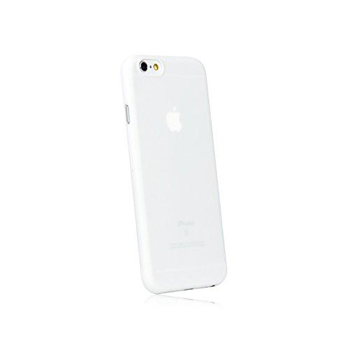 hardwrk Ultra-Slim Case - kompatibel mit Apple iPhone 6 und 6s - weiß - ultradünne Schutzhülle Handyhülle Cover Hülle in solid White