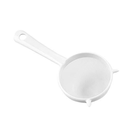 teng hong hui Colador Rustless Colgando Filtro de plástico Reutilizable Sn Colgante Filtro Rustless colador de Malla del tamiz de té de la Cocina Harina, L