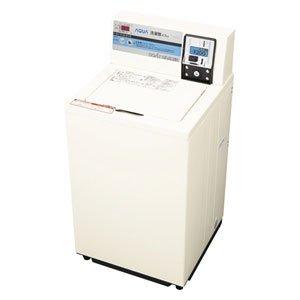アクア 4.5kg コイン式 業務用全自動洗濯機 パールホワイトAQUA MCW-C45