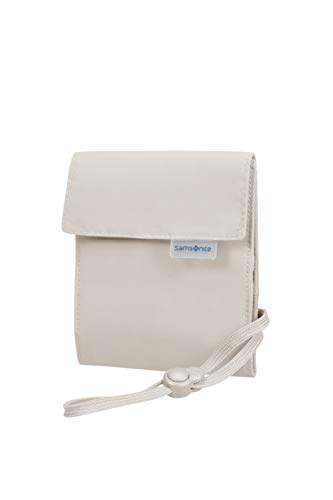 Samsonite Global Travel Accessories Multi-Pocket Portadocumenti da Collo, 34 centimeters, Beige