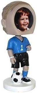 Male Soccer Photo Bobble Head
