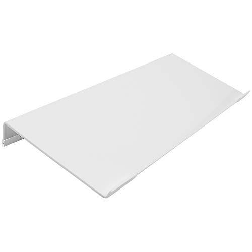 Refrze Computer Keyboard Stand, Keyboard Riser, Acrylic Tilted Keyboard Stand, Keyboard Lifter for Desk Easy Ergonomic Typing and Working at Home and Office, White