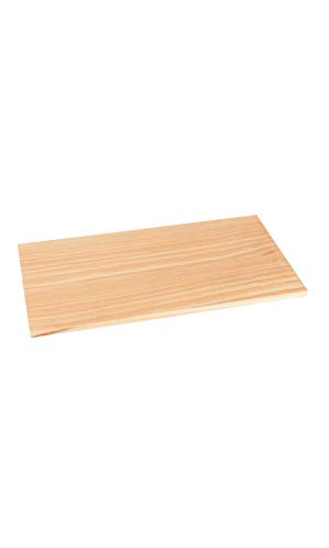 SSWBasics Natural Wood Shelf - 12' D x 24' L