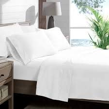 """LaxLinen Xuvet 600TC Super Soft Quality Egyptian Cotton 4PC Sheet Set 24"""" Inch Extra Deep Pocket Queen, White Solid 600-Thread Count"""