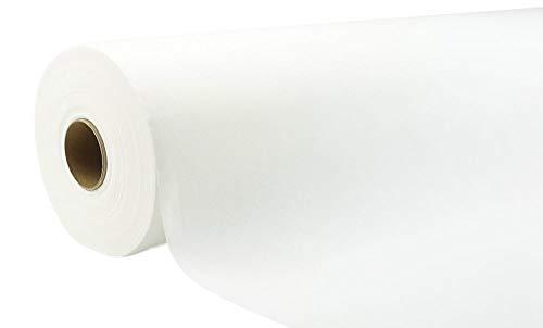 APARTina Airlaid Vlies Tischtuchrolle Tischdeckenrolle stoffähnlich weiß 118 cm x 40 m