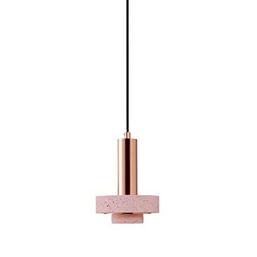 Lámparas de araña Moderna simple de la lámpara de terrazo creativo cabecera de la habitación Restaurante Oficina Estudio Cafetería Barra del pasillo del pasillo de la lámpara sola cabeza lamparas colg